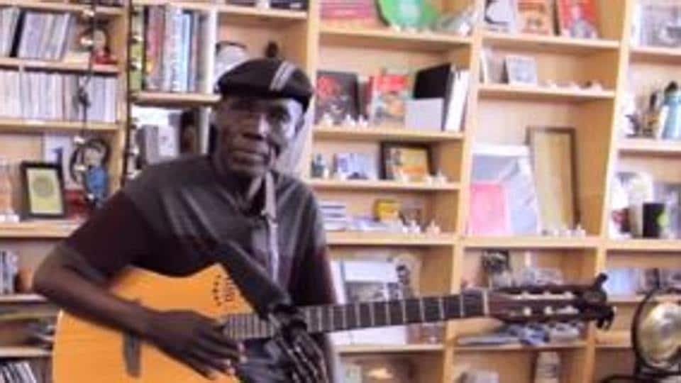 Afro-jazz legend Oliver 'Tuku' Mtukudzi.