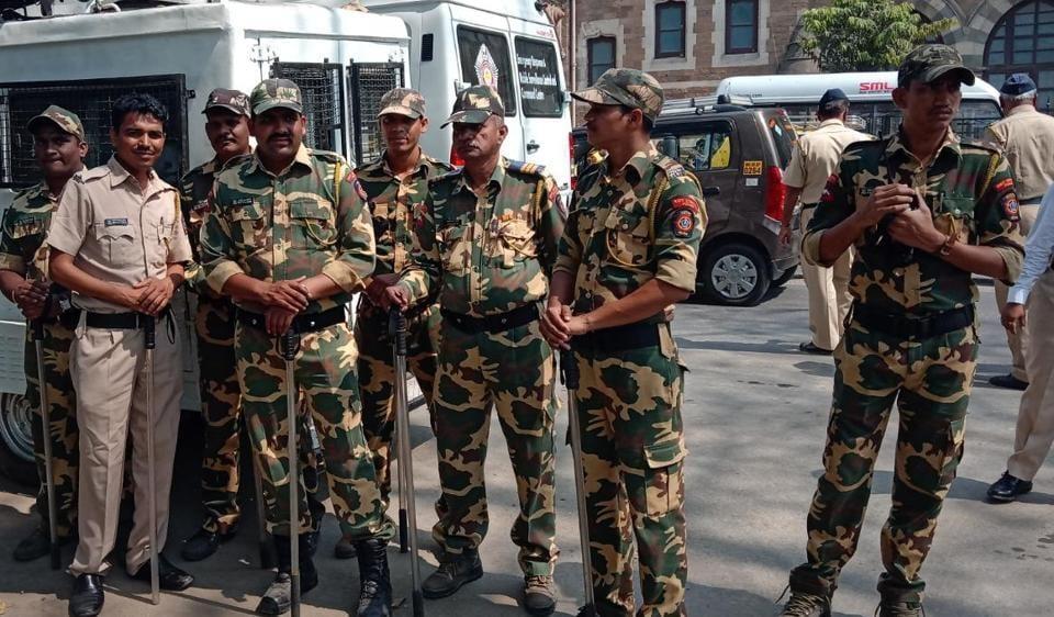 Maharashtra farmers,Mumbai,Police security in south Mumbai