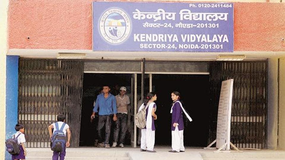 View of a Kendriya Vidyalaya school inNoida.