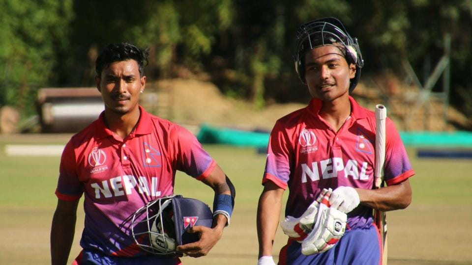 Nepal beat Hong Kong by five wickets in their final group game of the ICC World Cup Qualifier on Monday.