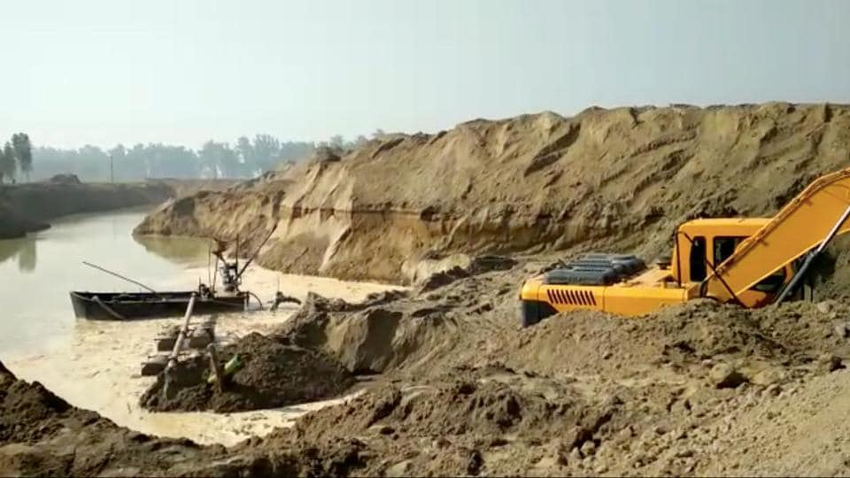 Fourteen out the state's 22 districts have sand quarries, and there are reports that local MLAs have the contracts.