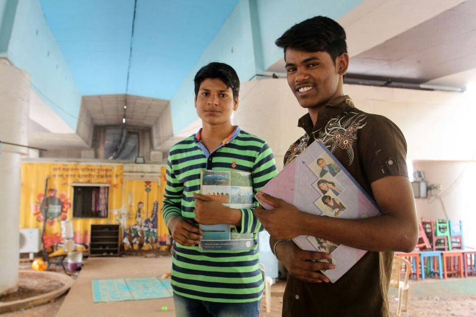 Mohan Kale, 17, along with another student Dashrath Pawar, 18, will be the first students of the two-year-old  signal school to appear for SSC examinations, which started from March 1.