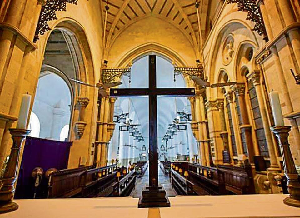 Cathedral that marks Mumbai's point zero begins 300th anniversary celebrations