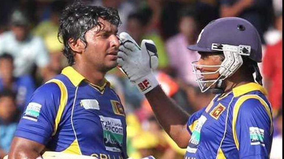 Mahela Jayawardene (R) and Kumar Sangakkara were the spine of the Sri Lankan batting line-up for a long period.