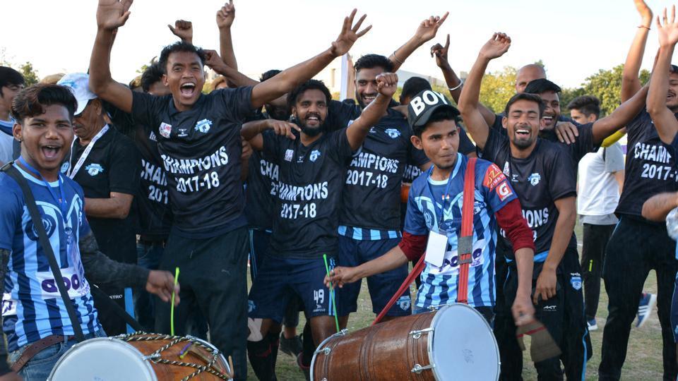 Minerva Punjab FC,I-League,All India Football Federation