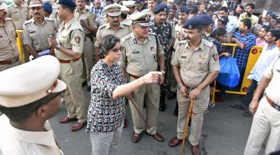 The Pune police, led by commissioner Rashmi Shukla does not want the media to come anywhere close to a high profile sexual harassment case that the police is investigating.