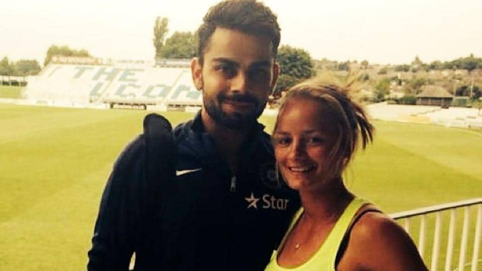Danielle Wyatt hinted that she may attend a Royal Challengers Bangalore game to witness Virat Kohli's batting.