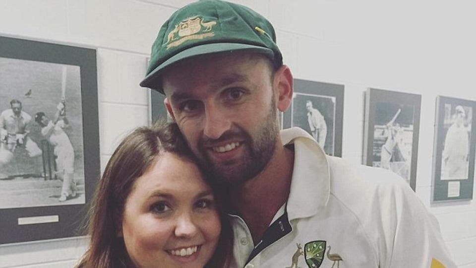 Nathan Lyon and ex-wife Mel Waring are having a public spat over the Australian cricketer's alleged affairs with a Perth real estate agent Emma McCarthy