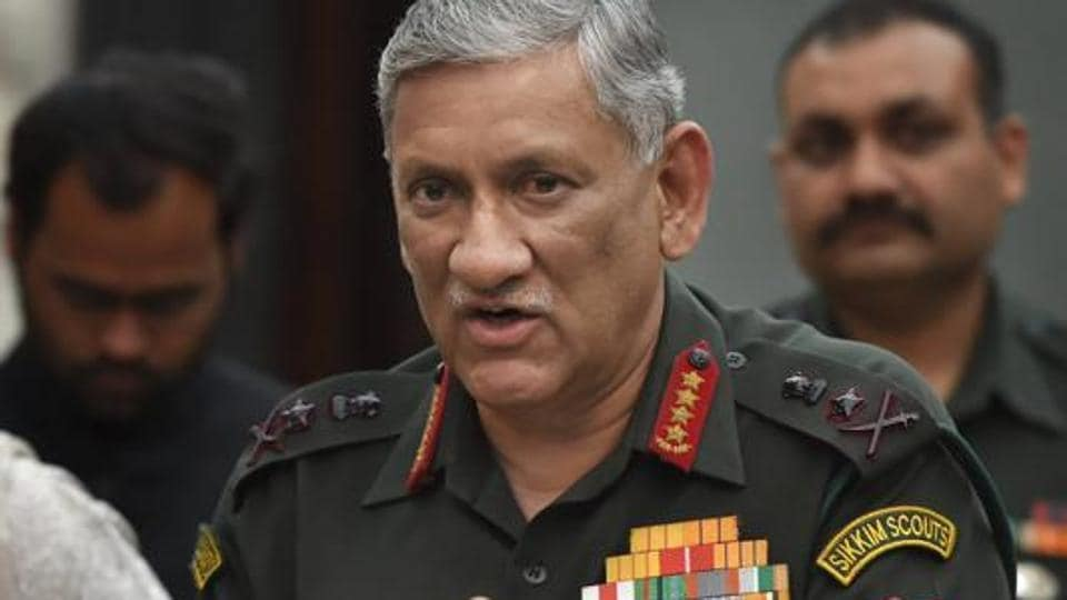 Army Chief Gen Bipin Rawat interacts with the students of Government Law College in Mumbai.