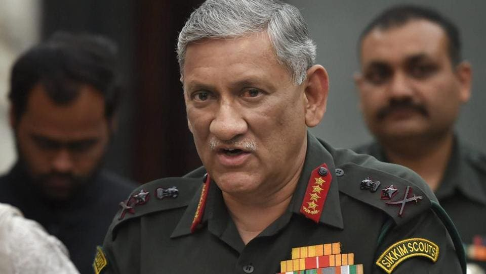 Chinese have finally arrived, challenging might of USA: Army chief Bipin Rawat