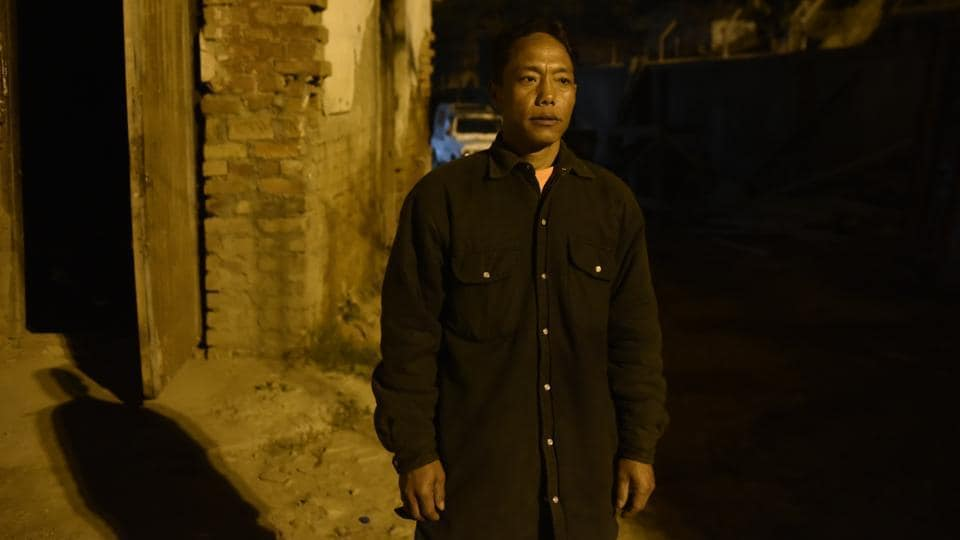 """Lamzakap Simte said his daughter Esther who left home in April 2017 contacted him in January and expressed a desire to return. He mustered courage to register an FIR but the police said that since she had a new identity, repatriation was difficult. Chinneihlam Gangte, an officer, said that this kind of trafficking has been happening since 2012. """"We can only act if a case is registered. Parents are scared,"""" Gangte said. (Vipin Kumar / HT Photo)"""