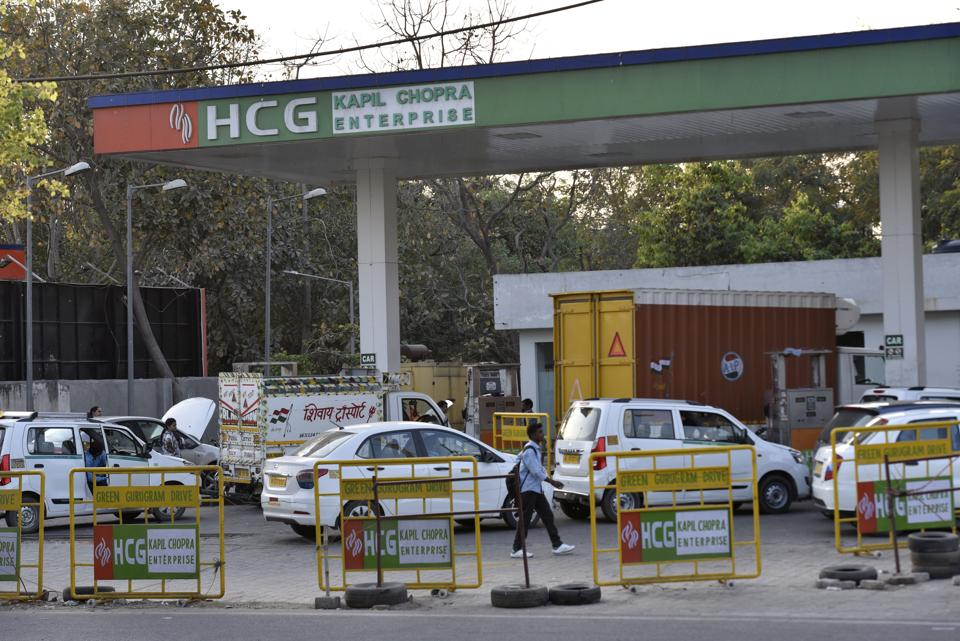 The decision was taken by GAIL for rerouting the existing CGPL pipeline at Iffco Chowk due to the underpass work by the NHAI at Iffco Chowk.
