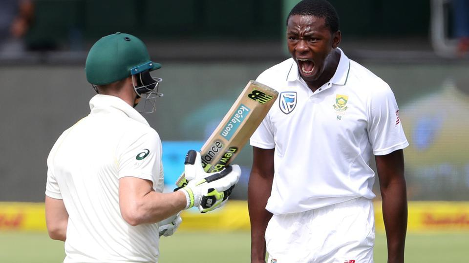 Kagiso Rabada's celebration after taking the wicket of Steve Smith during the 2nd South Africa-Australia Test earned him a two-match ban.