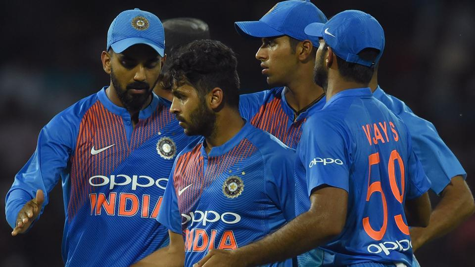 India defeated Sri Lanka by six wickets in their third match of Nidahas Twenty20 Cup in Colombo on Tuesday. (AFP)