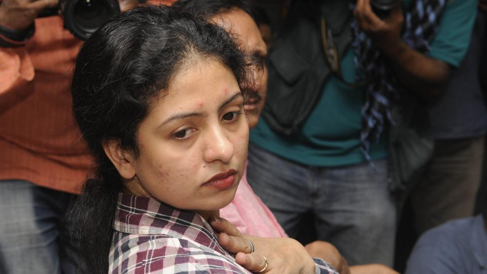 Hasin Jahan, wife of Indian cricketer Mohammed Shami, has been accused of attacking a media person in Kolkata.