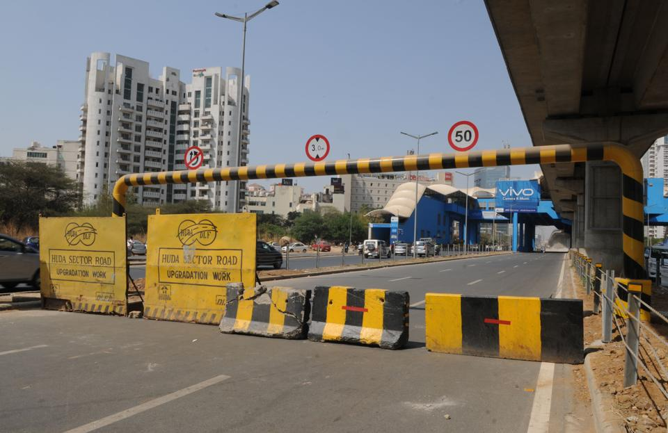 Instead of decongesting the intersection, the Genpact underpass led to snarls on the Golf Course Road.