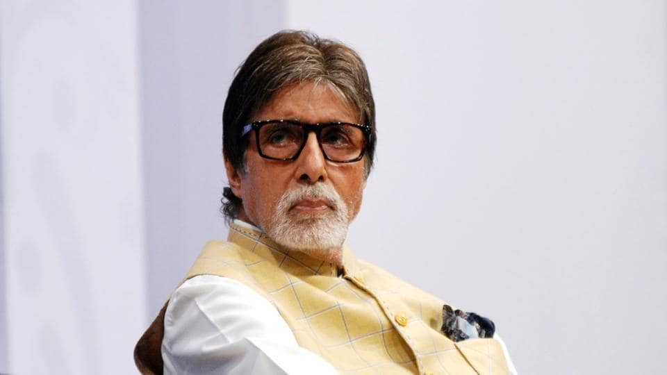 Indian Bollywood actor Amitabh Bachchan complained of ill health on Tuesday.