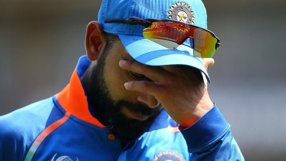 Indian cricket team skipper Virat Kohli's body is feeling the pressure of back-to-back high intensity series against tough opponents.