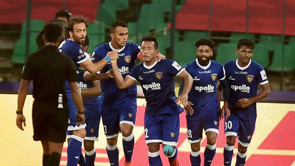 Chennaiyin FC defeated FC Goa 3-0 in their Indian Super League semi-final second leg clash against FC Goa in Chennai today. Catch highlights of Chennaiyin FC vs FC Goa, Indian Super League semi-final 2nd leg, here.