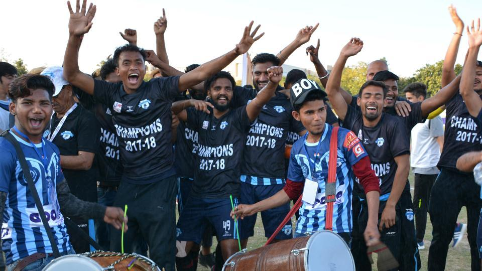 Minerva Punjab FC were crowned the champions of the I-League this season.