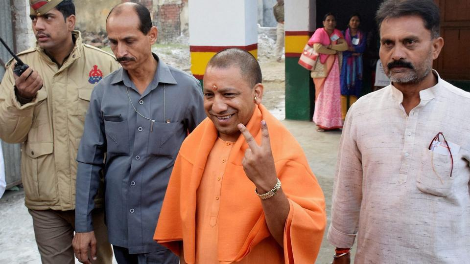 BJP gains in Bihar, leads in Gorakhpur seat of UP