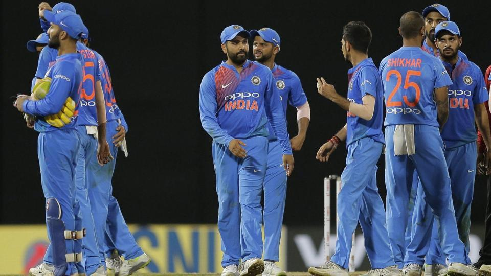 India comprehensively entered the final of the Nidahas Trophy and will take on either Bangladesh or Sri Lanka on Sunday. (AP)