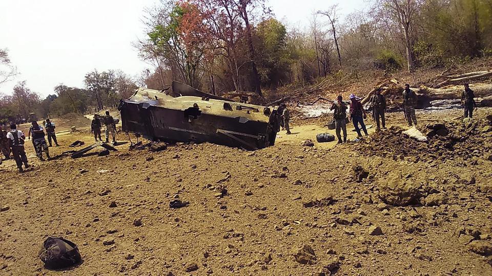 Sukma,Maoists,CRPF jawans