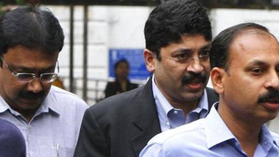 Dayanidhi Maran,Kalanithi Maran,Telephone exchange case