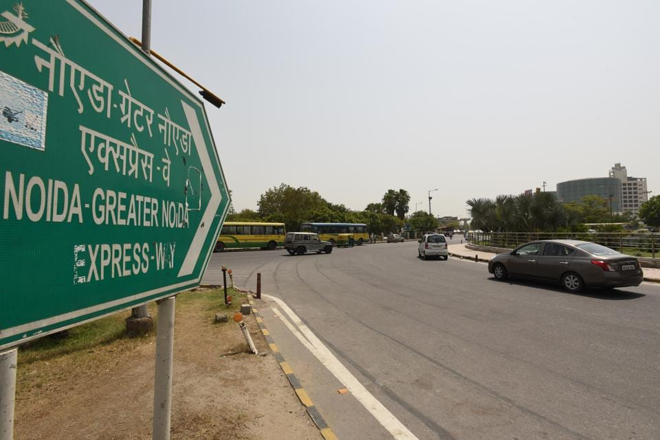 A View of Pari Chowk in Greater Noida.  The report will be submitted within six months.