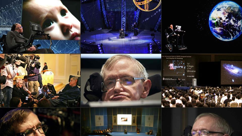 Risultati immagini per Stephen Hawkings, AI