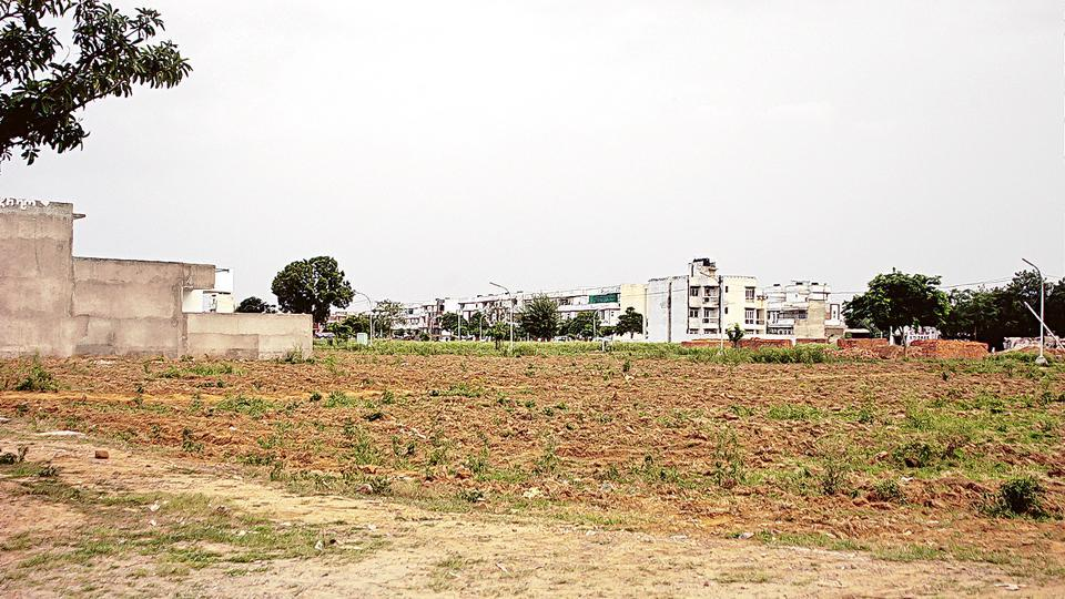 A view of Sector 57 in Gurgaon.