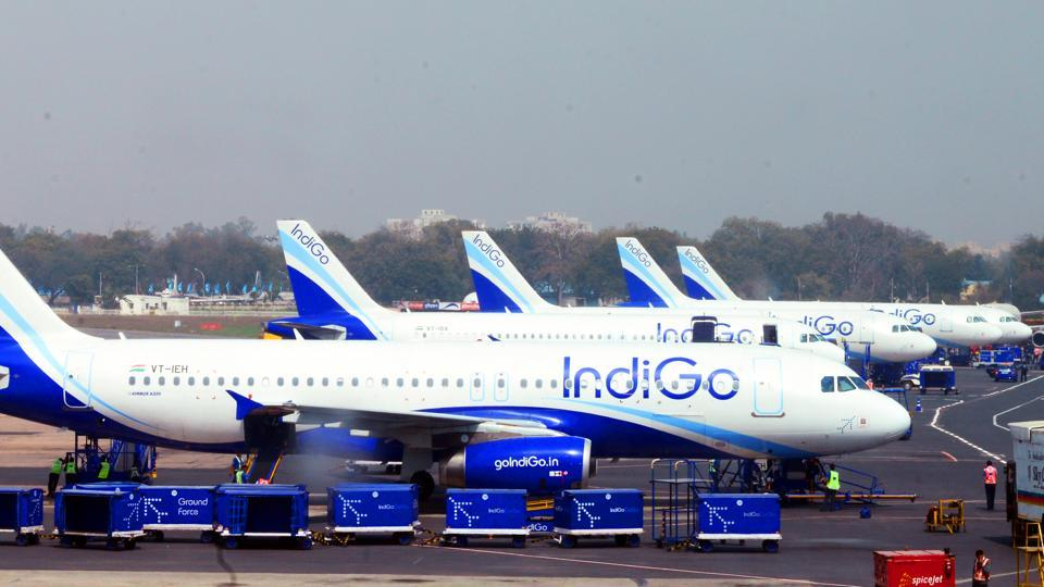 IndiGo carries about 40% of domestic flyers.