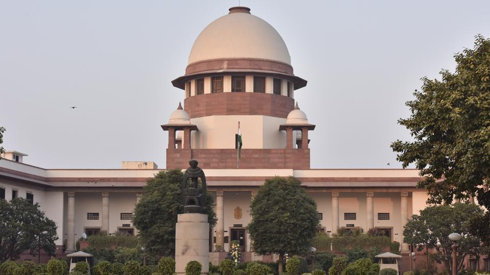 The Supreme Court on Wednesday rejected all interim pleas seeking to intervene as parties in the Babri masjid- Ram temple land dispute case. A special bench comprising Chief Justice Dipak Misra and justices Ashok Bhushan and SA Najeeb accepted the contention that only original parties to the dispute be allowed to advance arguments and the intervention applications of unrelated persons be rejected. (Sonu Mehta / HT File)