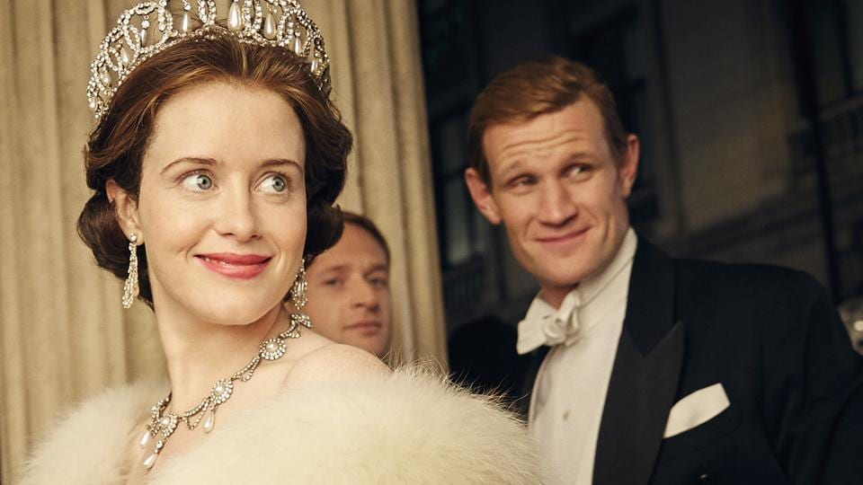 Claire Foy,Matt Smith,The Crown