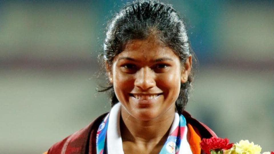 Sanjeevani Jadhav won the bronze medal in Asian Cross Country Championship in Guiyang.