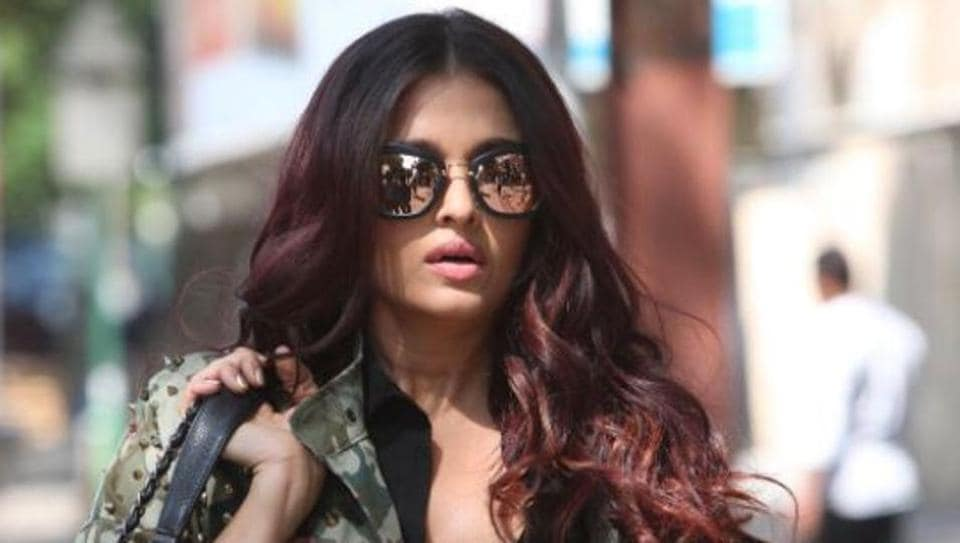 Aishwarya Rai Bachchan is sporting red hair for Fanne Khan but the magazine cover has her in a look we have rarely seen before.
