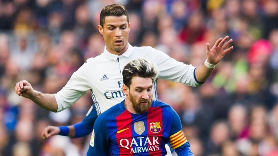 Lionel Messi,Cristiano Ronaldo,UEFA Champions League
