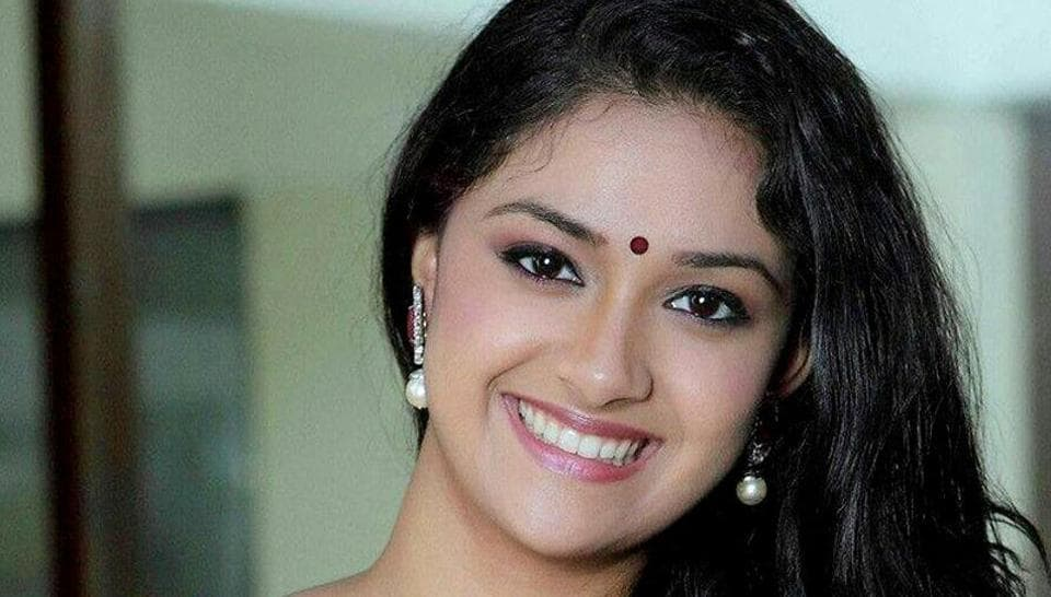 Keerthy Suresh plays the lead role in Mahanati, which is based on the life of late actor Savitri.