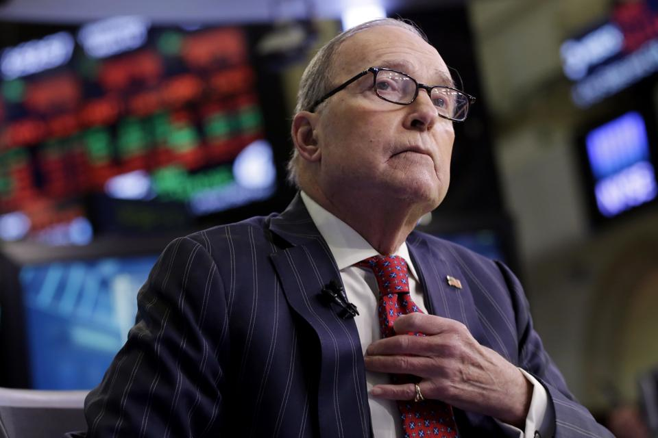 Larry Kudlow previously served in the Reagan administration.