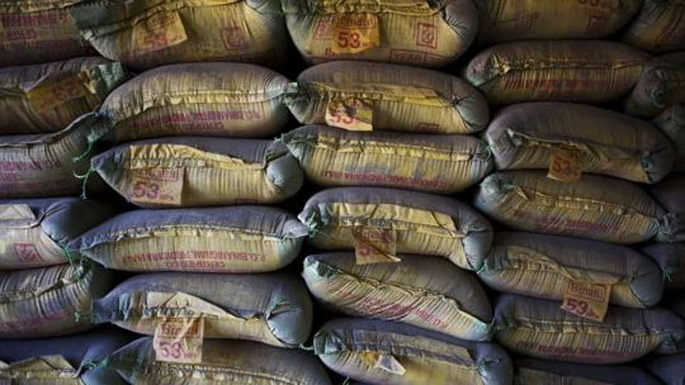 Shares of Binani Cement's parent company Binani Industries Ltd. were up 5% to 101.65 rupees at 10:09 a.m. on the BSE.