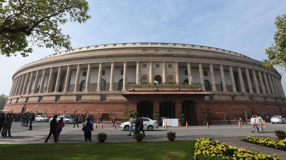 A view of Parliament House ahead of the winter session in December 2017.