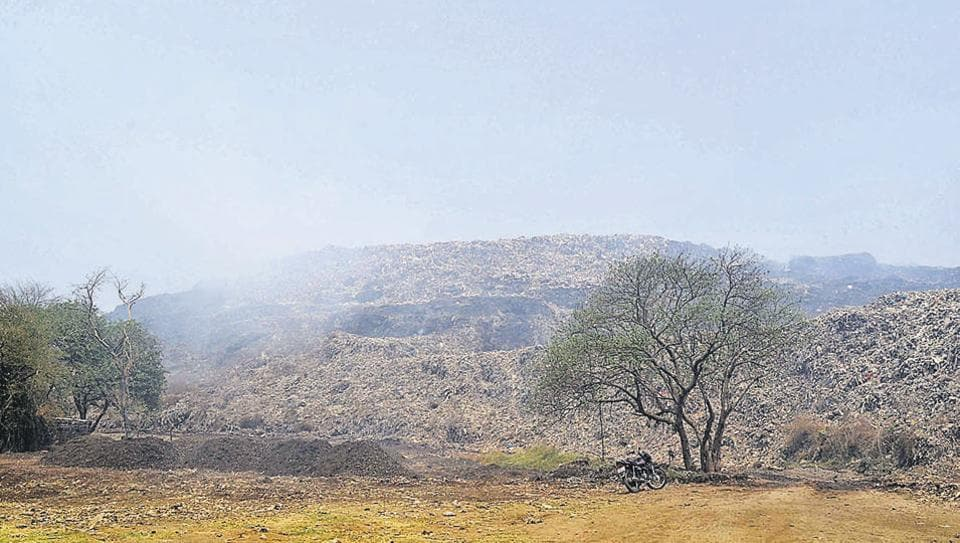 The fire at Kalyan's Adharwadi dumping ground was finally doused on Wednesday.