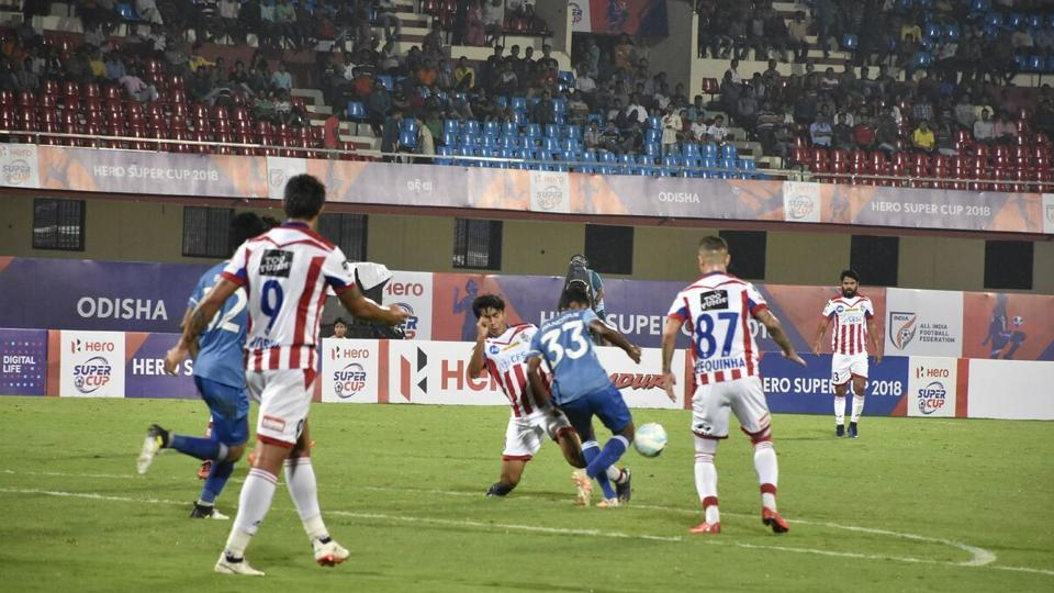ATK will face Indian Super league team FC Goa in the main draw of the Super Cup on April 3.