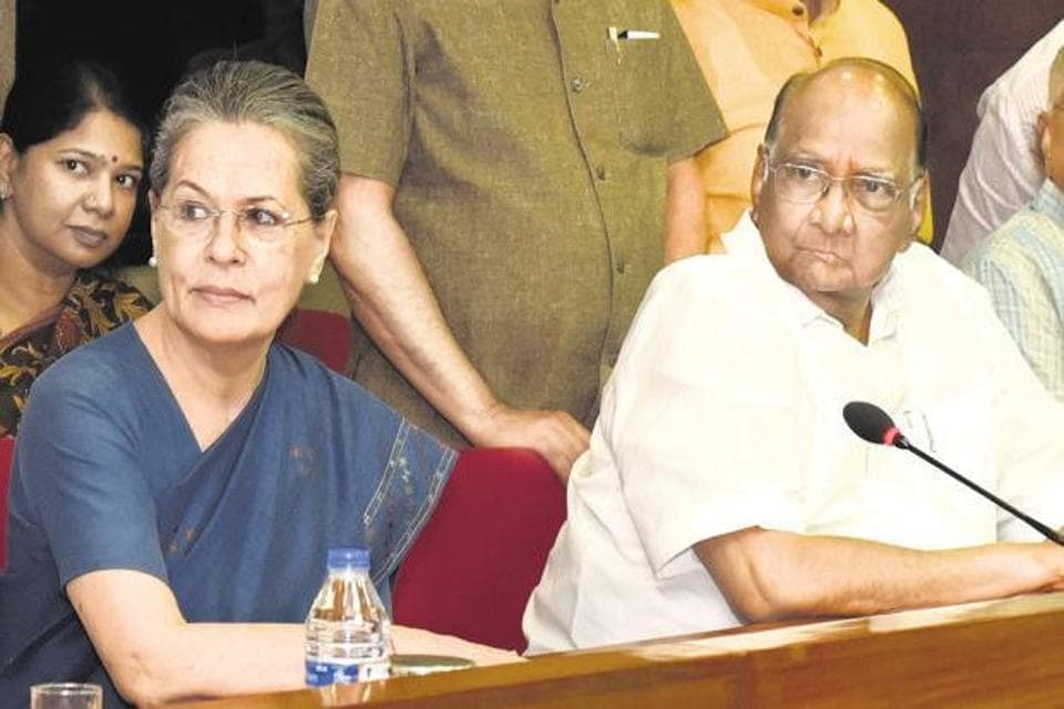 Congress-NCP leaders are also in touch with leaders of the Peasants and Workers Party (PWP), Janata Dal (S) and Samajwadi Party.