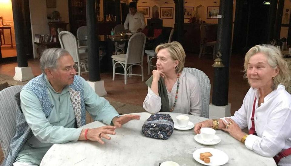 Malavika's Mumbaistan,Hillary Clinton,Ahilya Fort