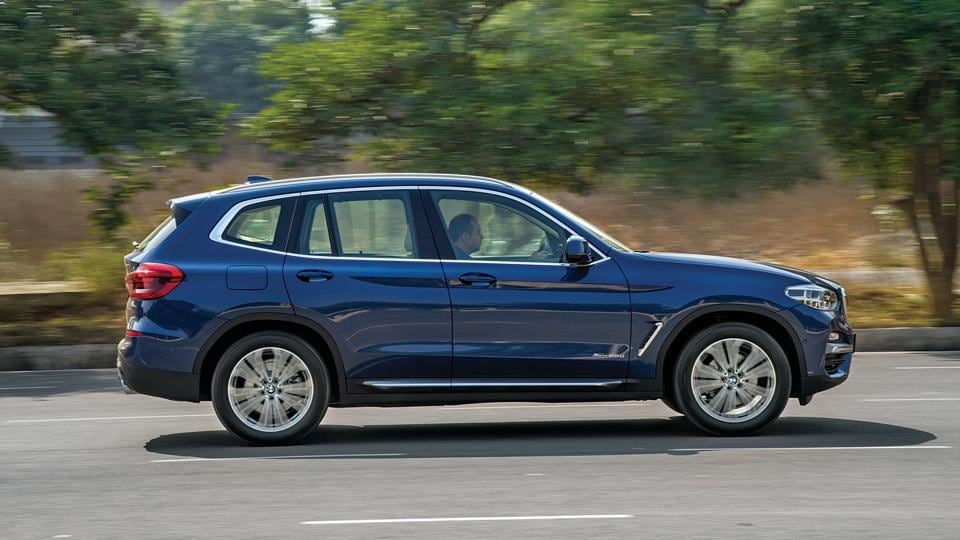 BMW's new X3 may not be much larger in absolute terms, but the design makes it look like a barely shrunken X5.