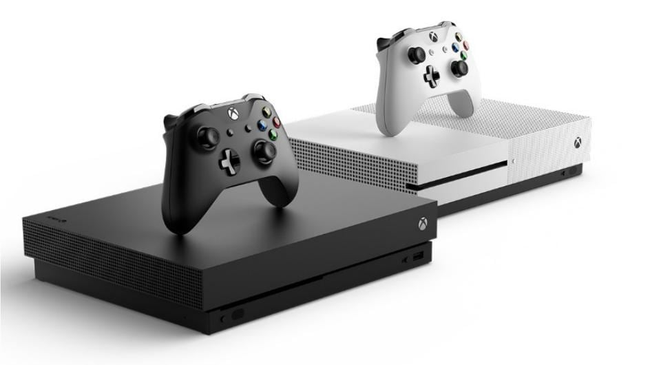 Microsoft Xbox One S features 4K Ultra HD Blu-ray and 4K video streaming.