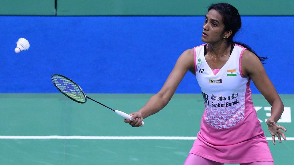 PVSindhu beat Nozomi Okuhara in the quarter-final of the All England Championship badminton in Birmingham on Friday.