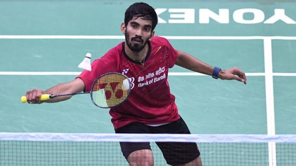 Kidambi Srikanth, the highest seeded Indian men's player at No. 3, lost to China's Huang Yuxiang 21-11,  15-21, 22-20 at All England badminton.