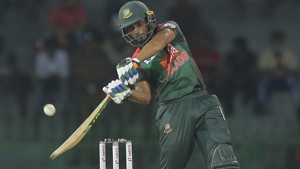 Follow full cricket score of Sri Lanka vs Bangladesh, Nidahas Trophy tri-nation T20 match in Colombo here.  Mahmudullah in action during the match between Bangladesh and Sri Lanka in the Nidahas Trophy T20 tri-nation series in Colombo on Friday.